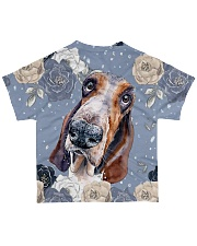 Perfect T shirt for Basset Hound lovers All-over T-Shirt back