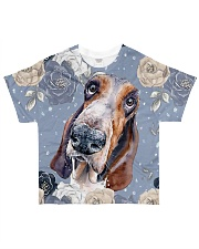 Perfect T shirt for Basset Hound lovers All-over T-Shirt front