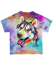 Perfect T shirt for Siberian Husky lovers All-over T-Shirt back