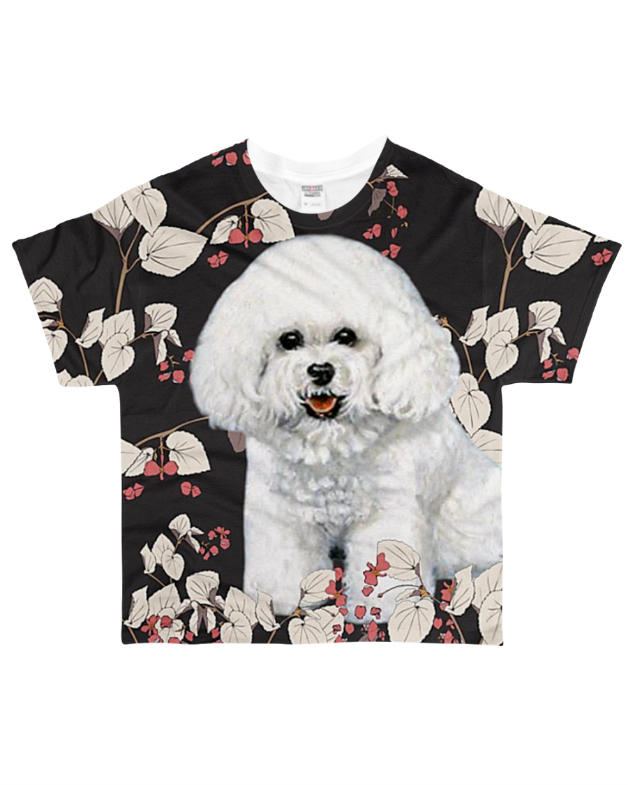Perfect T shirt for Bichon Frise lovers All-over T-Shirt