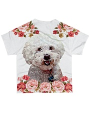 Perfect T shirt for Bichon Frise lovers All-over T-Shirt back