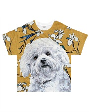 Perfect T shirt for Bichon Frise lovers All-over T-Shirt front