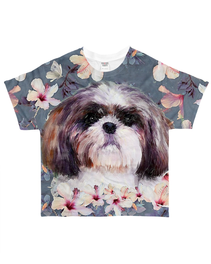 Perfect T shirt for Lhasa Apso lovers All-over T-Shirt