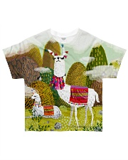 Perfect T shirt for Llama and Alpaca lovers All-over T-Shirt front