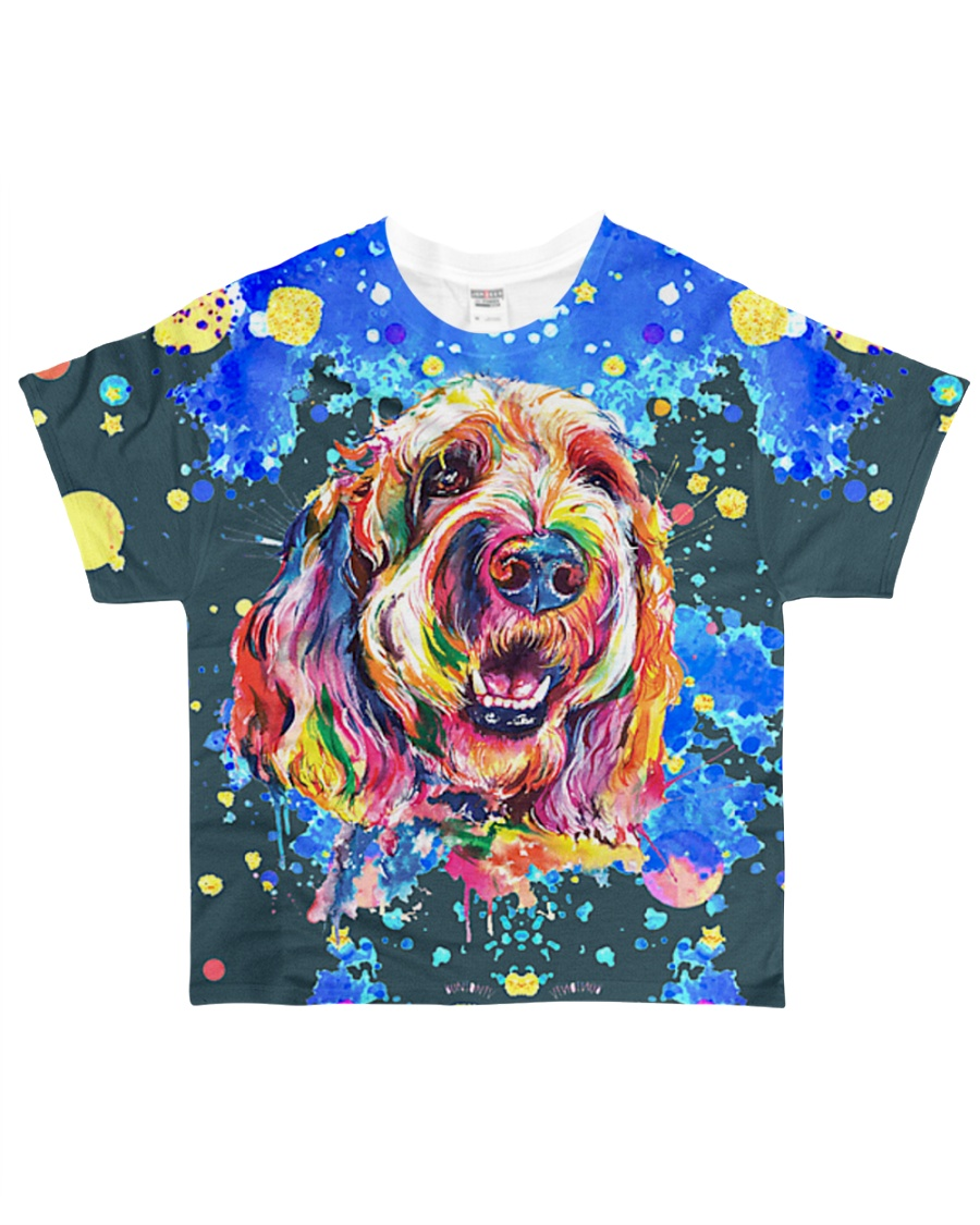 Perfect T shirt for Goldendoodle lovers All-over T-Shirt