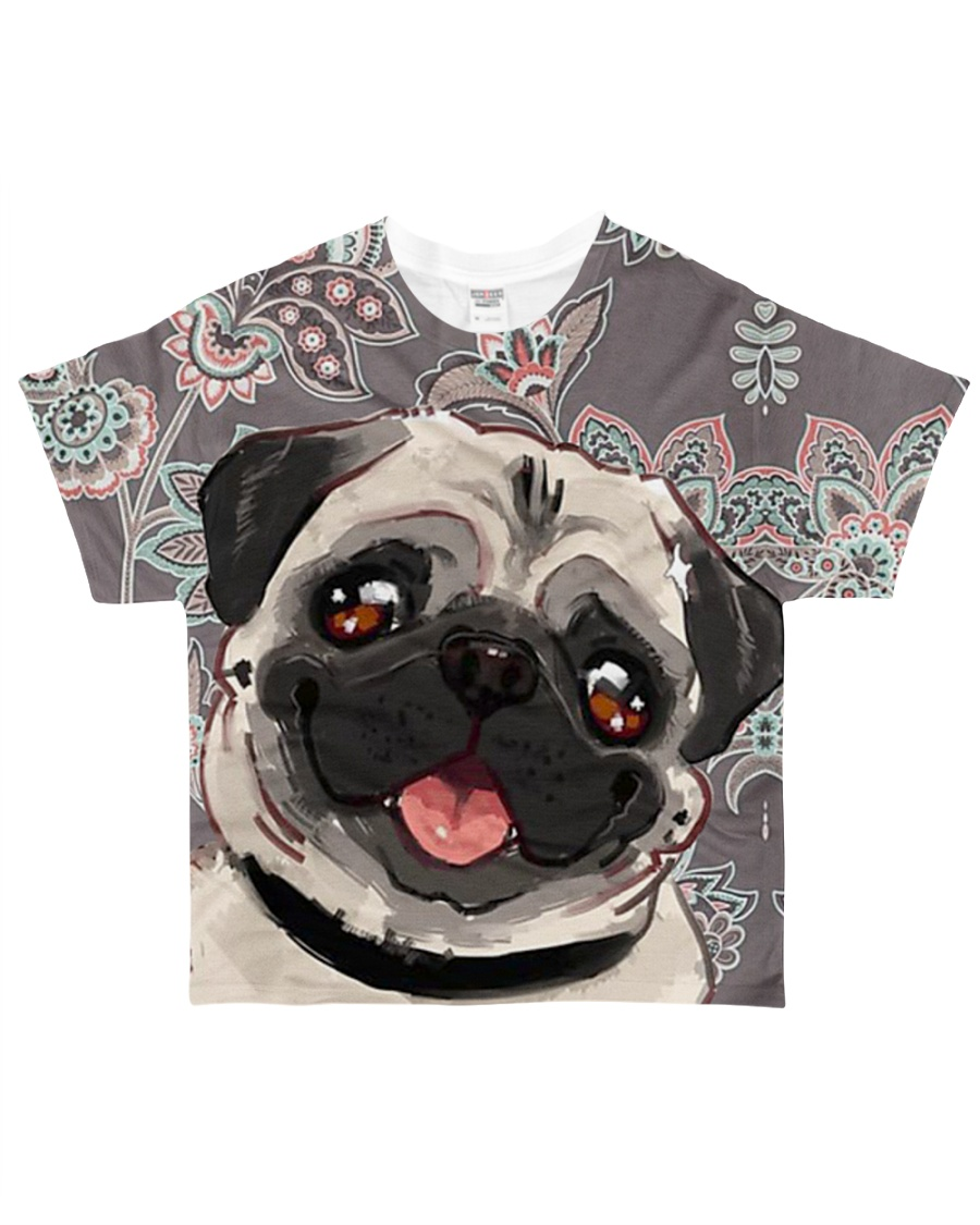 Perfect T shirt for Pug lovers All-over T-Shirt