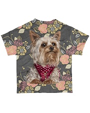 Yorkshire Terrier Tee All-over T-Shirt back