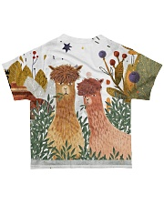Perfect T shirt for Llama and Alpaca lovers All-over T-Shirt back