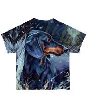 Dachshund Tee All-over T-Shirt back