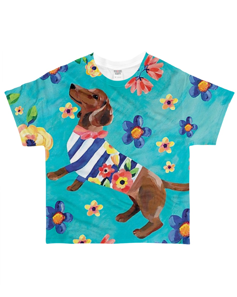 For Dachshund Lovers All-over T-Shirt
