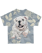 Bulldog Tee All-over T-Shirt back