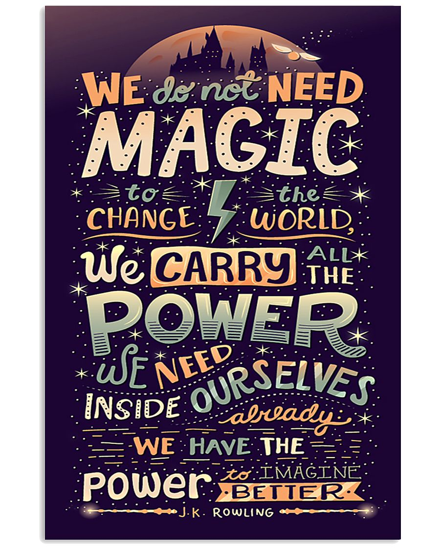 J-K-ROWLING QUOTES 16x24 Poster