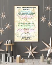 BEING A SOCIAL WORKER MEANS 16x24 Poster lifestyle-holiday-poster-1