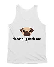 don't pug with me All-over Unisex Tank thumbnail