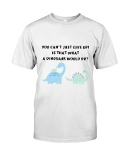 friends joey is that what a dinosaur would do Classic T-Shirt thumbnail