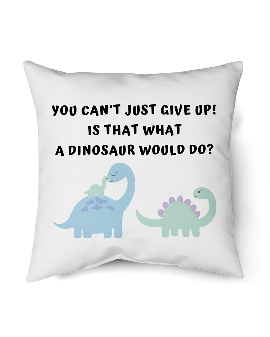 "friends joey is that what a dinosaur would do Indoor Pillow - 16"" x 16"""