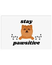 stay pawsitive 17x11 Poster thumbnail