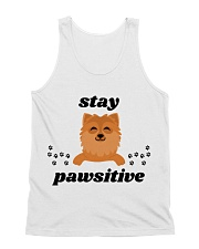 stay pawsitive All-over Unisex Tank thumbnail