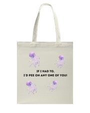 friends joey and monica jellyfish sting Tote Bag thumbnail