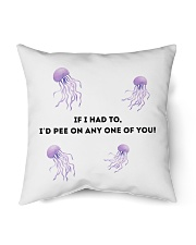 "friends joey and monica jellyfish sting Indoor Pillow - 16"" x 16"" thumbnail"