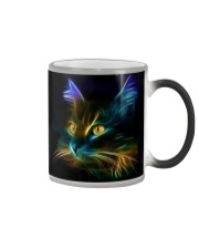 Mysterious Fluorescent Cat Color Changing Mug color-changing-right
