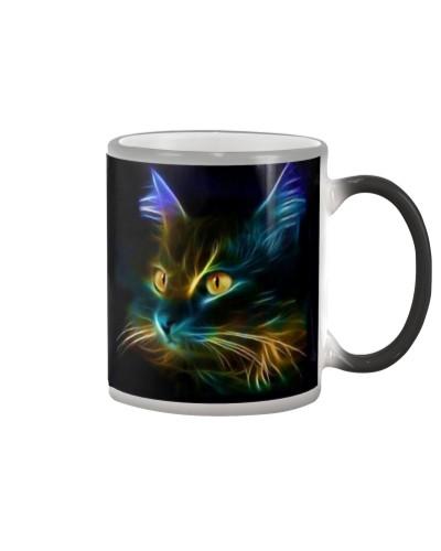 Mysterious Fluorescent Cat