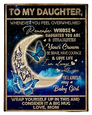To My Daughter From Mom - To the moon and Back Comforter - Twin thumbnail