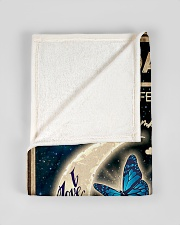 "To My Daughter From Mom - To the moon and Back Small Fleece Blanket - 30"" x 40"" aos-coral-fleece-blanket-30x40-lifestyle-front-17"