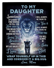 To My Daughter From MOM Comforter - Twin thumbnail