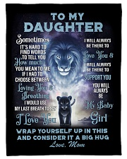"""To My Daughter From MOM Small Fleece Blanket - 30"""" x 40"""" front"""