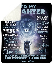 """To My Daughter From MOM Sherpa Fleece Blanket - 50"""" x 60"""" thumbnail"""