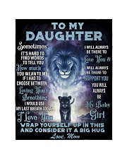 """To My Daughter From MOM Quilt 40""""x50"""" - Baby thumbnail"""
