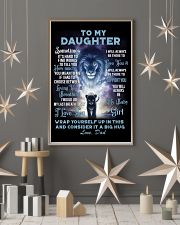 To My Daughter from Dad Lion 1 Poster 16x24 Poster lifestyle-holiday-poster-1