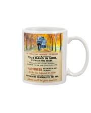 To My Darling - Your Hand in Mine Mug thumbnail