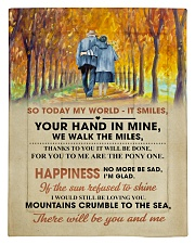 To My Darling - Your Hand in Mine Comforter - Twin thumbnail