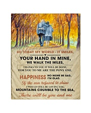 """To My Darling - Your Hand in Mine Quilt 40""""x50"""" - Baby thumbnail"""