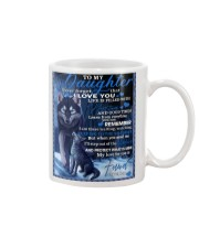 To My Daughter From DAD -wolf- 02 Mug thumbnail
