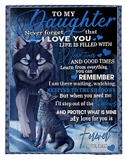 To My Daughter From DAD -wolf- 02 Comforter - Twin thumbnail