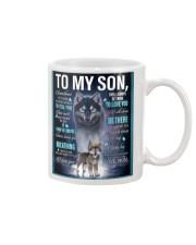 To My Son from mom Mug thumbnail