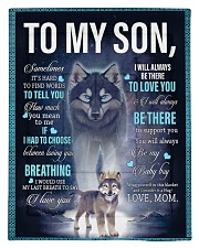 To My Son from mom Comforter - Twin thumbnail