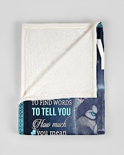 """To My Son from mom Small Fleece Blanket - 30"""" x 40"""" aos-coral-fleece-blanket-30x40-lifestyle-front-17"""