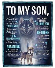 """To My Son from mom Small Fleece Blanket - 30"""" x 40"""" front"""