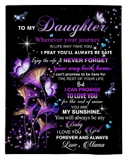 To My Daughter From Mom  - Butterflt -06 Comforter - Twin thumbnail