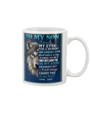 To My Son From Dad  - Wolf - 05 Mug thumbnail