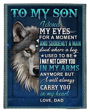 To My Son From Dad  - Wolf - 05 Comforter - Twin thumbnail