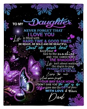 To My Daughter From DAD - Butterfly- 01 Comforter - Twin thumbnail
