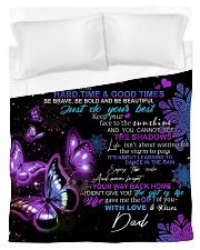 To My Daughter From DAD - Butterfly- 01 Duvet Cover - Twin thumbnail