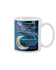 To My Daughter From DAD - Love you to the Moon Mug thumbnail