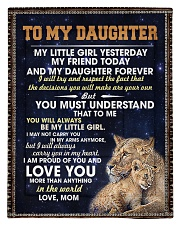 To My Daughter Comforter - Twin thumbnail