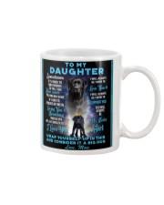 To My Daughter From Mom - Lab Mug thumbnail